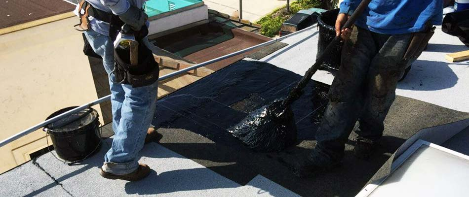 Roofing contractor provides efficient roof maintenance and repair in Oak Park.